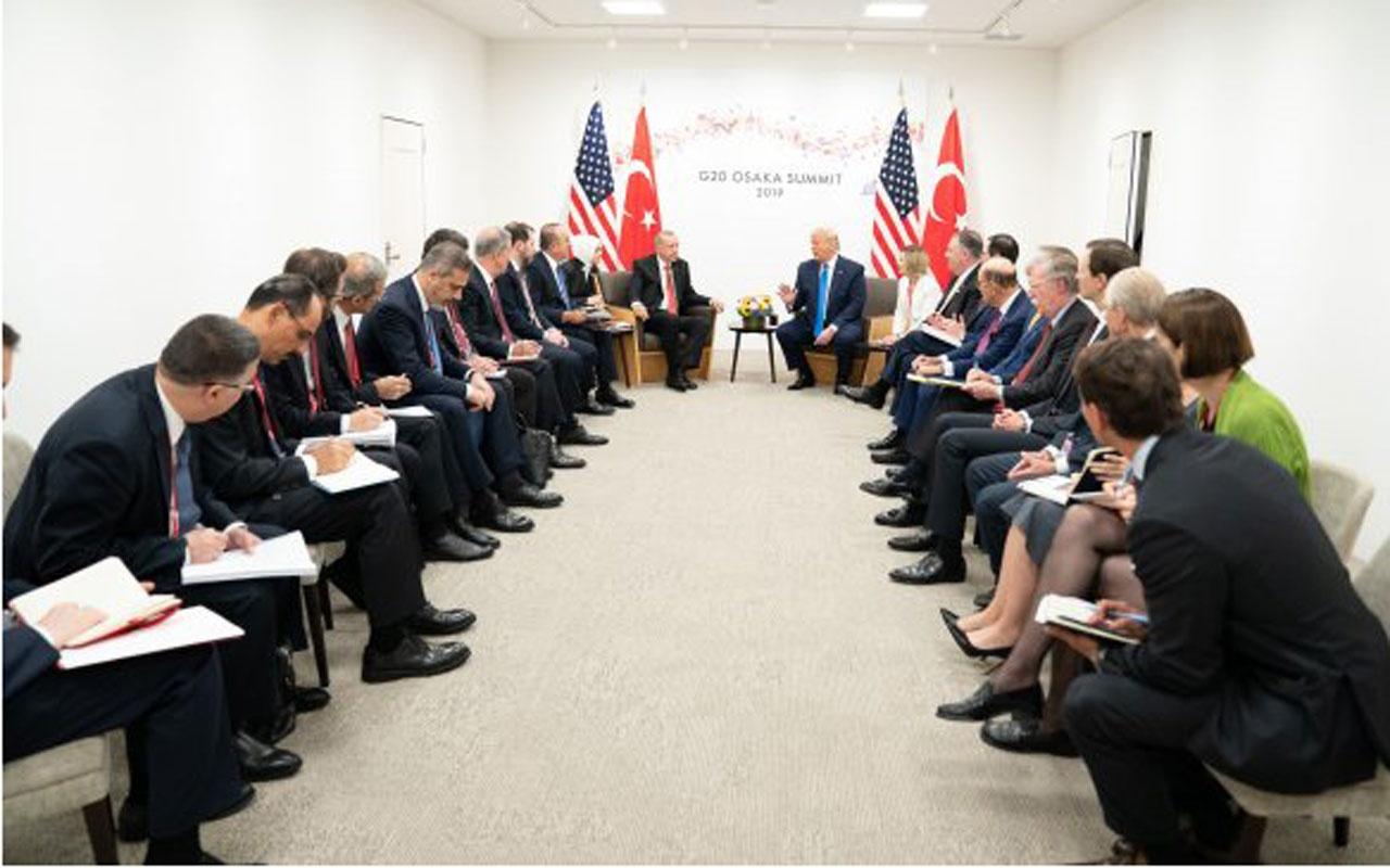 Erdoğan ve Trump görüşmesinde ilginç detay bu karede ortaya çıktı!