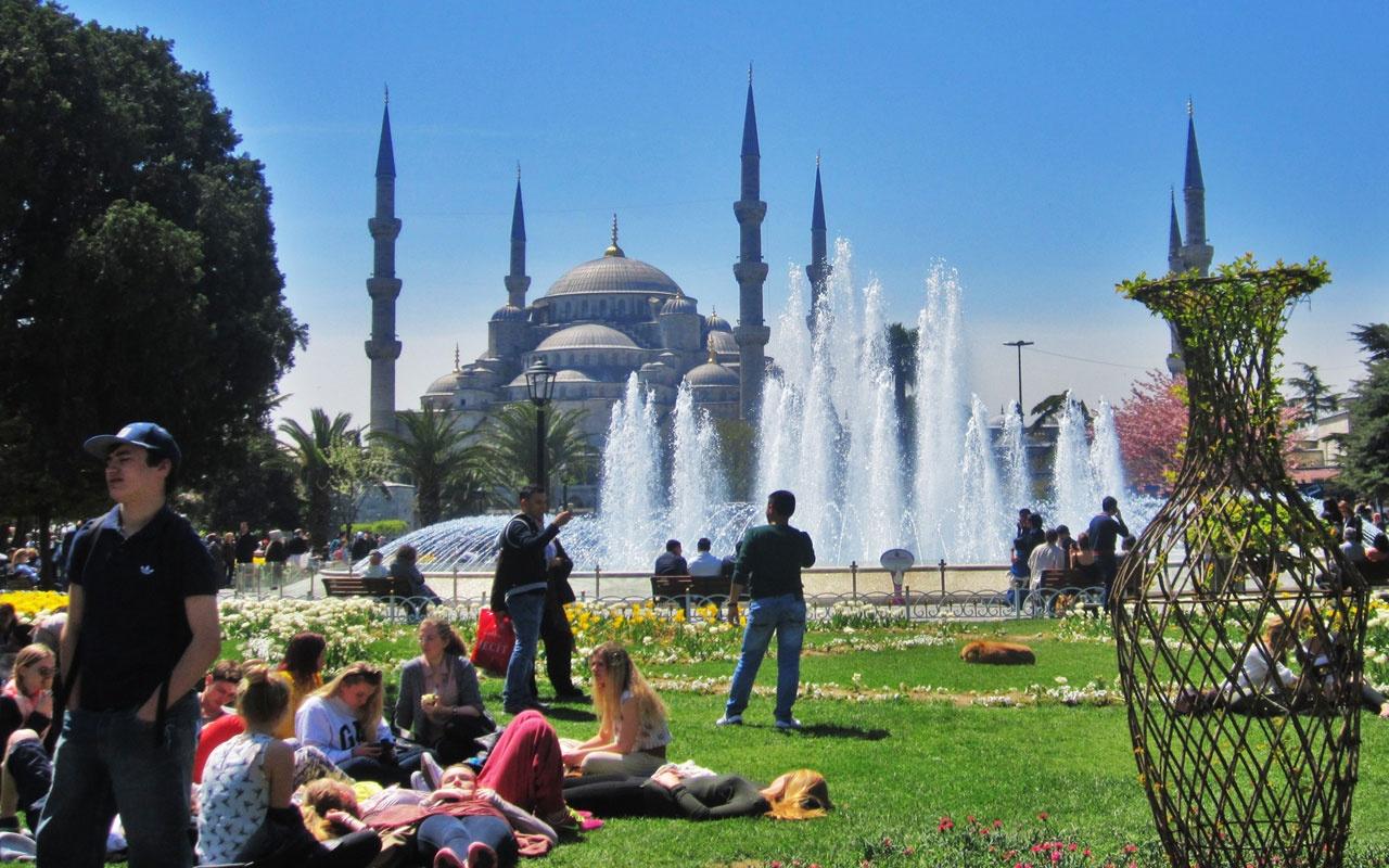 Rekor turist sayısına ulaştı! İstanbul'da son 5 yılın turizm rekoru