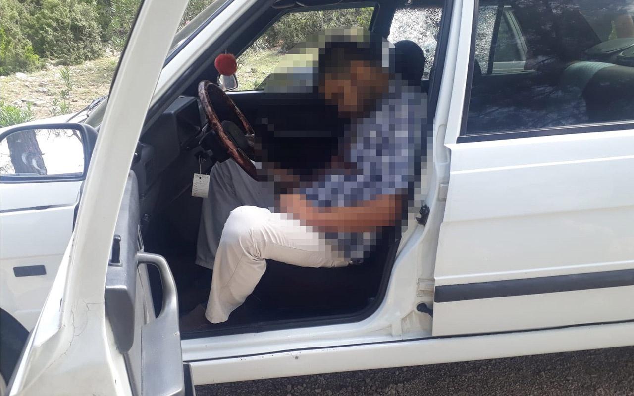 Adana Kozan'da otomobilde tabancayla vurularak öldürülmüş bulundu