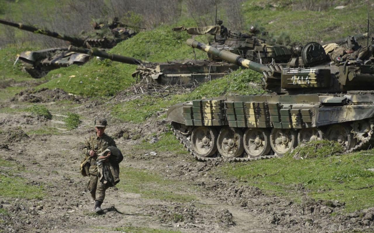 Azerbaycan'da askeri üste tank mermisi yere düştü: 2 şehit