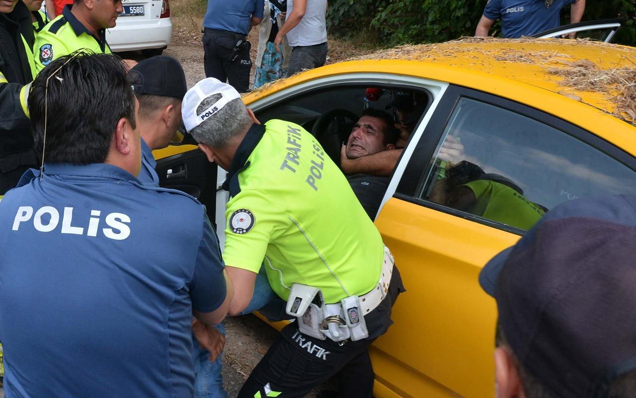 Adana'da yeni aldığı otomobili hacizli çıkınca çıldırdı