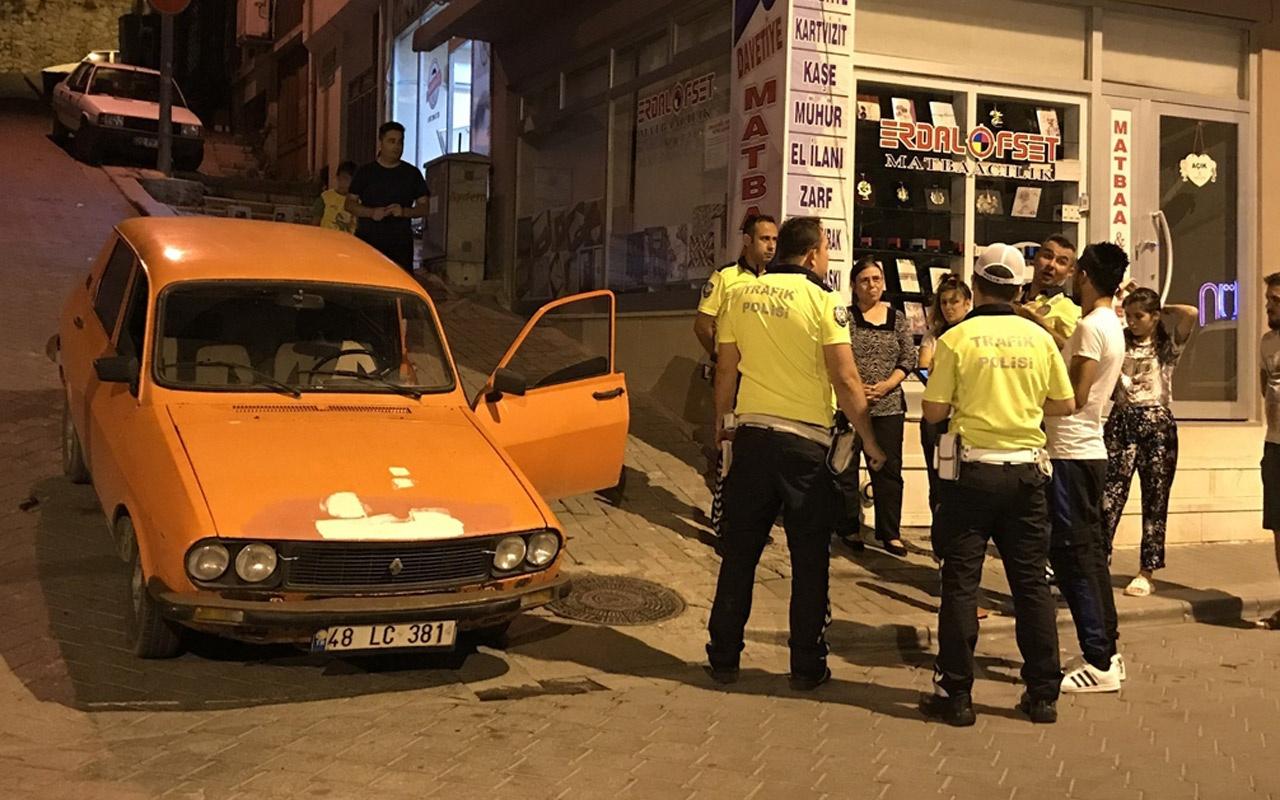Denizli'de drift yapan sürücüye 7 bin lira para cezası