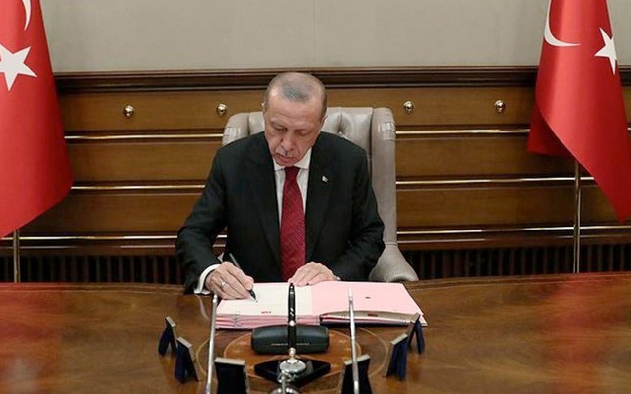 Cumhurbaşkanı Erdoğan imzayı attı görevde alma ve atamalar var