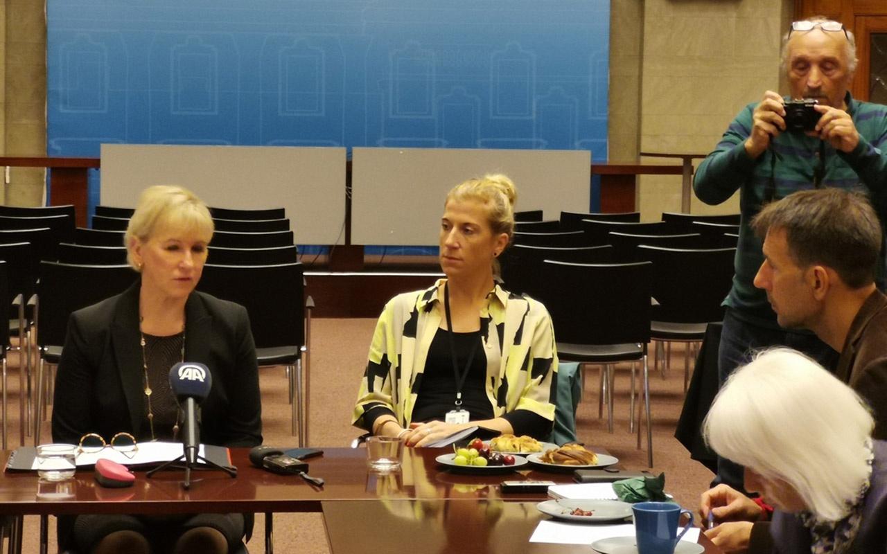 İsveç Dışişleri Bakanı Margot Wallström'den sözde Ermeni soykırımı sorusuna ders gibi yanıt