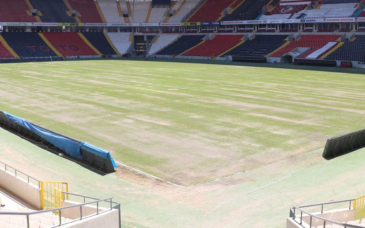 Gaziantep Kalyon Stadı Süper Lig'e hazırlanıyor