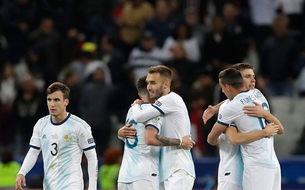 Messi kızardı Arjantin turnuvayı üçüncü tamamladı