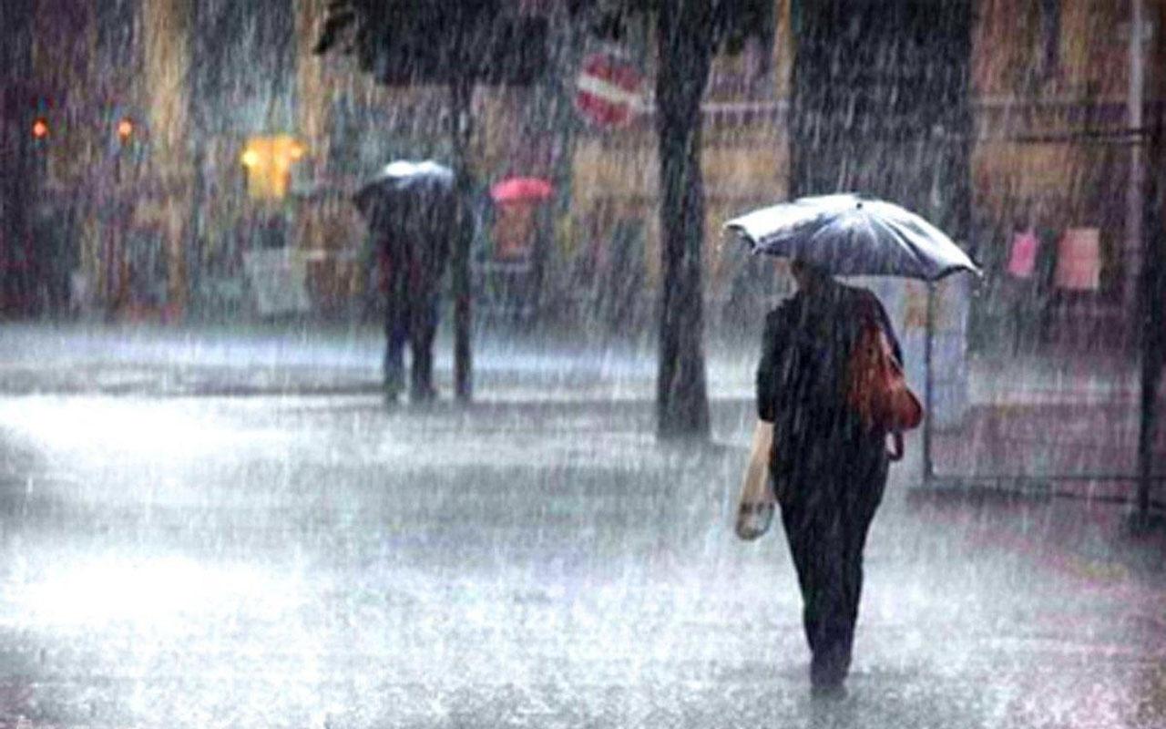 Meteorolojiden o bölgeler için yağış uyarısında bulundu