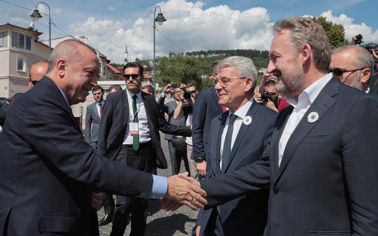 Erdoğan'ın korumaları ile Saraybosna polisi arasında gerginlik