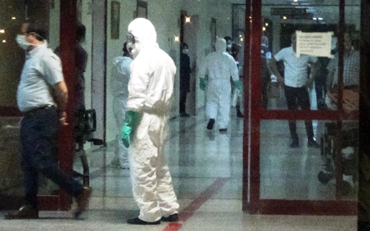 Diyarbakır'da kimyasal madde alarmı
