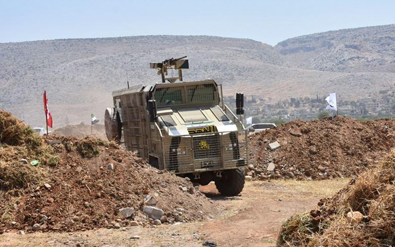 Özgür Suriye Ordusu ilk zırhlı aracını üretti