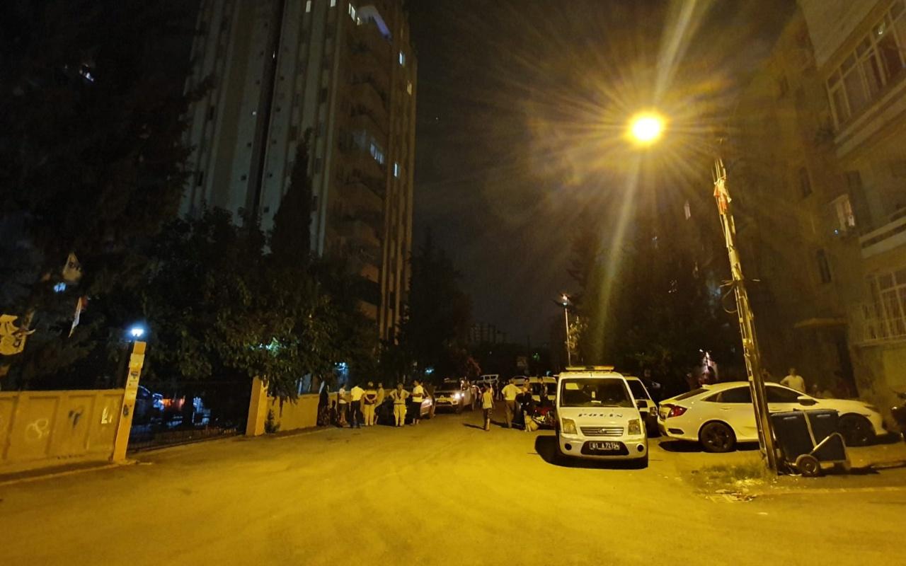 Adana'da 4 aylık evli astsubay dehşet saçtı