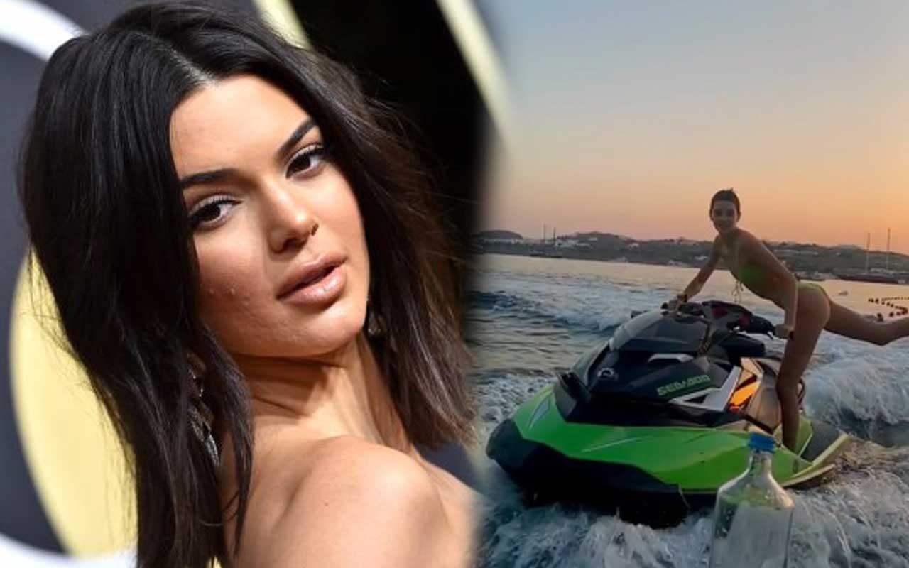 Kendall Jenner bikinili videosuyla sosyal medya akımına dahil oldu!