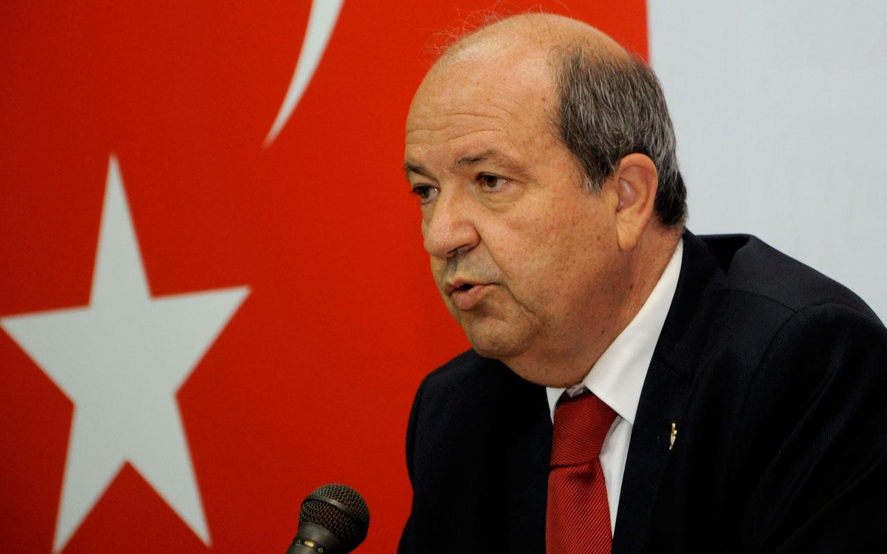 KKTC Başbakanı Ersin Tatar'dan AB'ye tepki: Bu yoldan dönüş yoktur