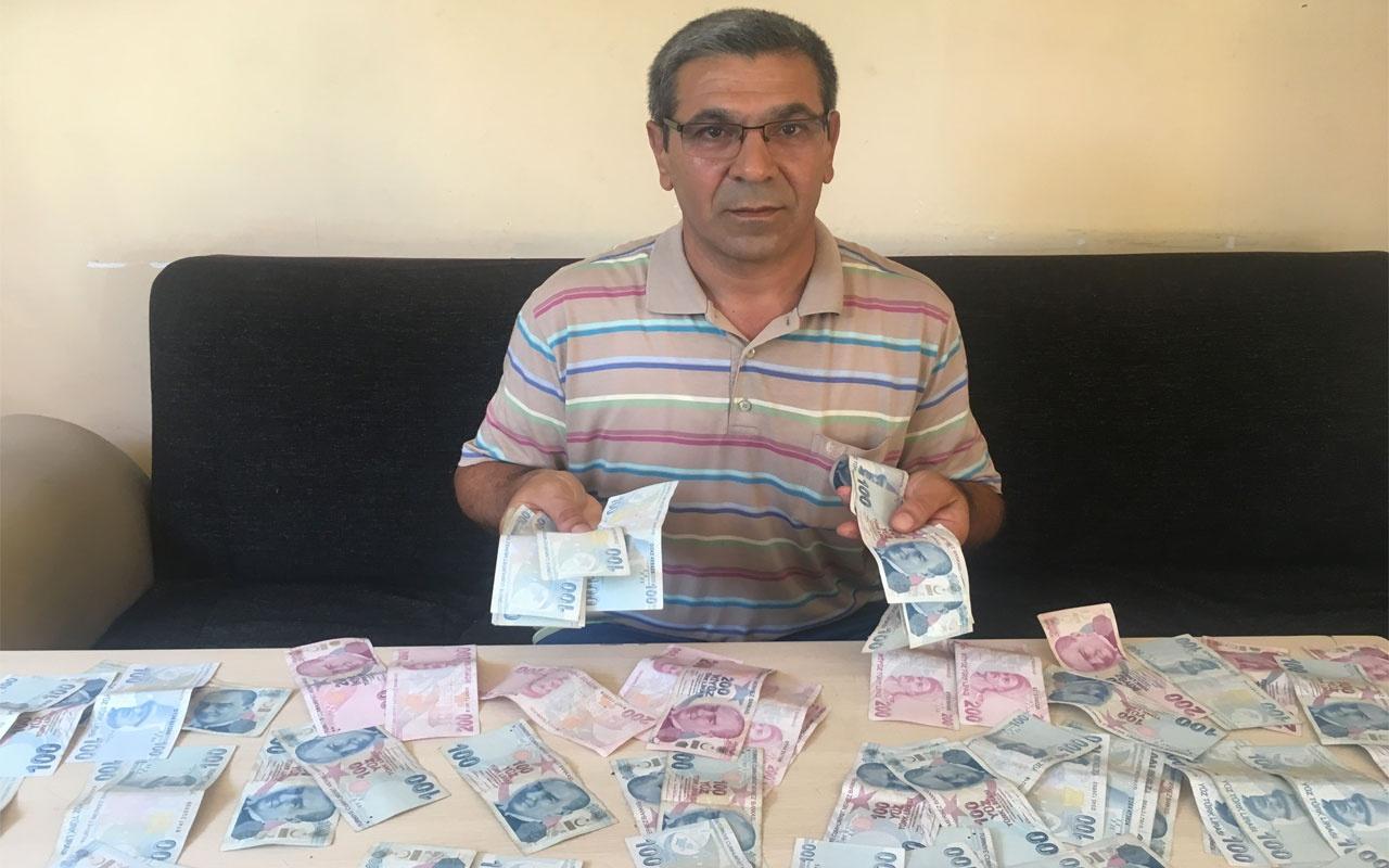 İstanbul'da para yatırmaya giden taksici ATM'de binlerce lira buldu