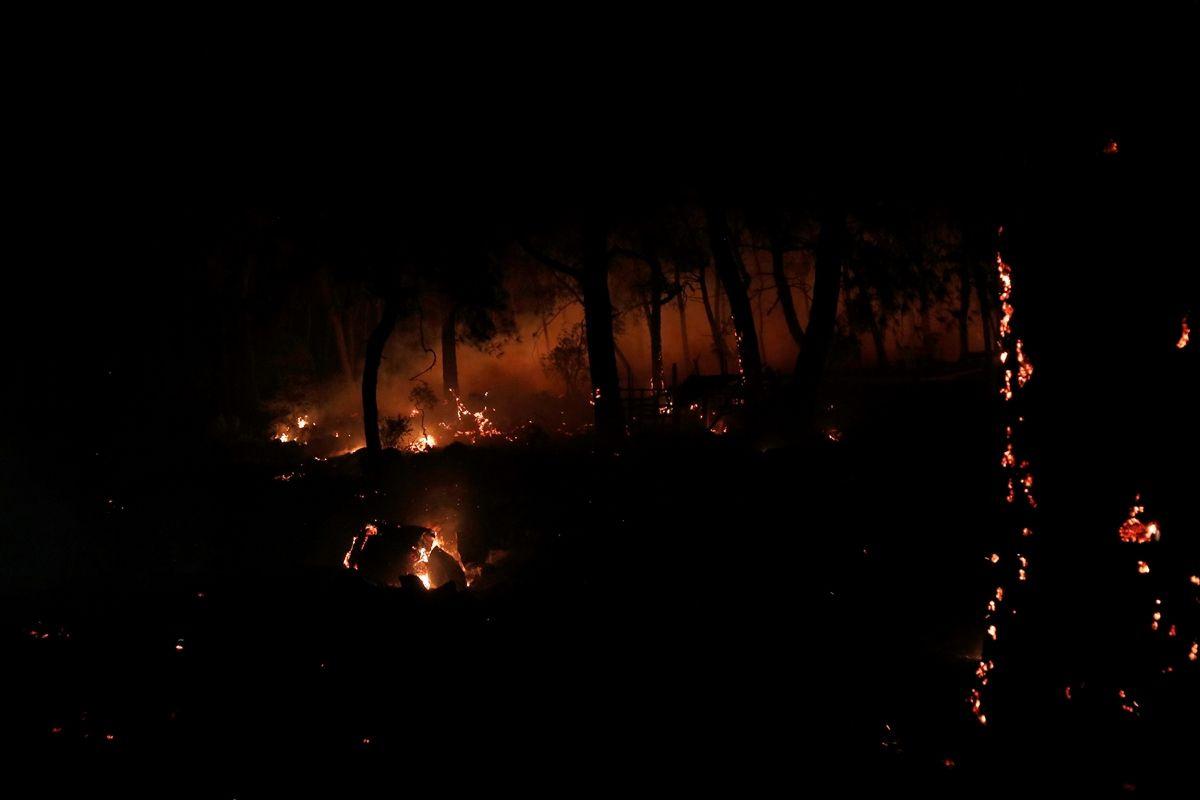 Muğla'daki orman yangınında 34 ev tahliye edildi - Sayfa 4