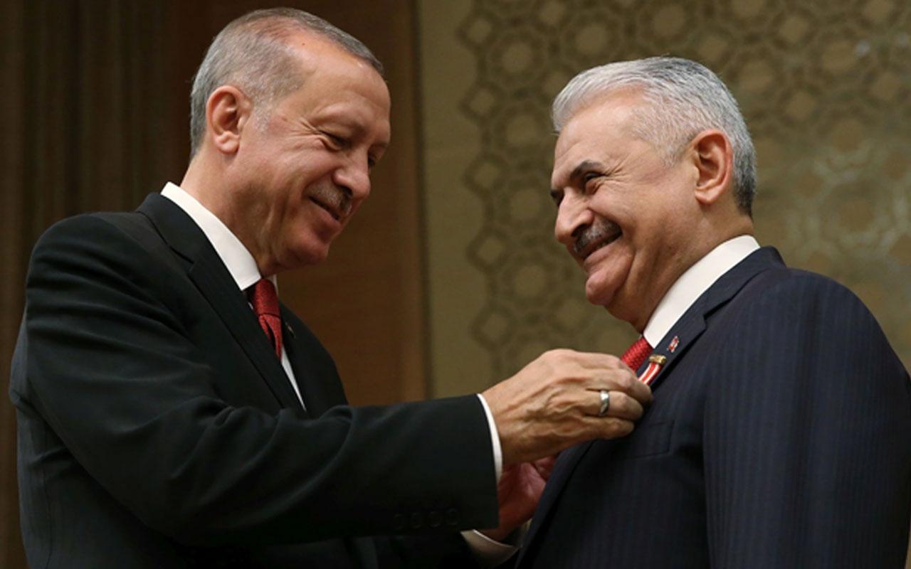 """""""Binali Yıldırım'la ilgili tasarrufunuz ne olacak?"""" sorusuna Erdoğan'dan yanıt!"""