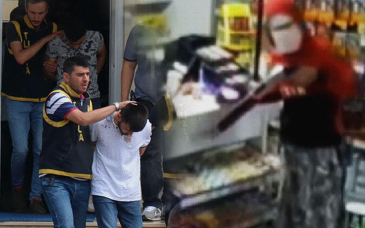 İstanbul Tuzla'da etekli soyguncular güvenlik kamerasında