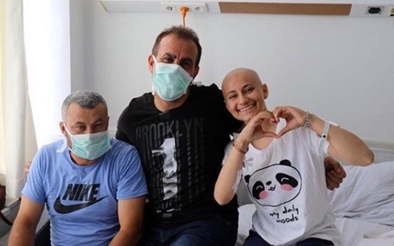 Haluk Levent lösemili hayranını ziyaret etti! Sosyal medyada büyük beğeni topladı