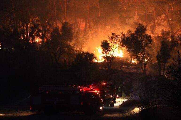 Muğla'daki orman yangınında 34 ev tahliye edildi - Sayfa 9