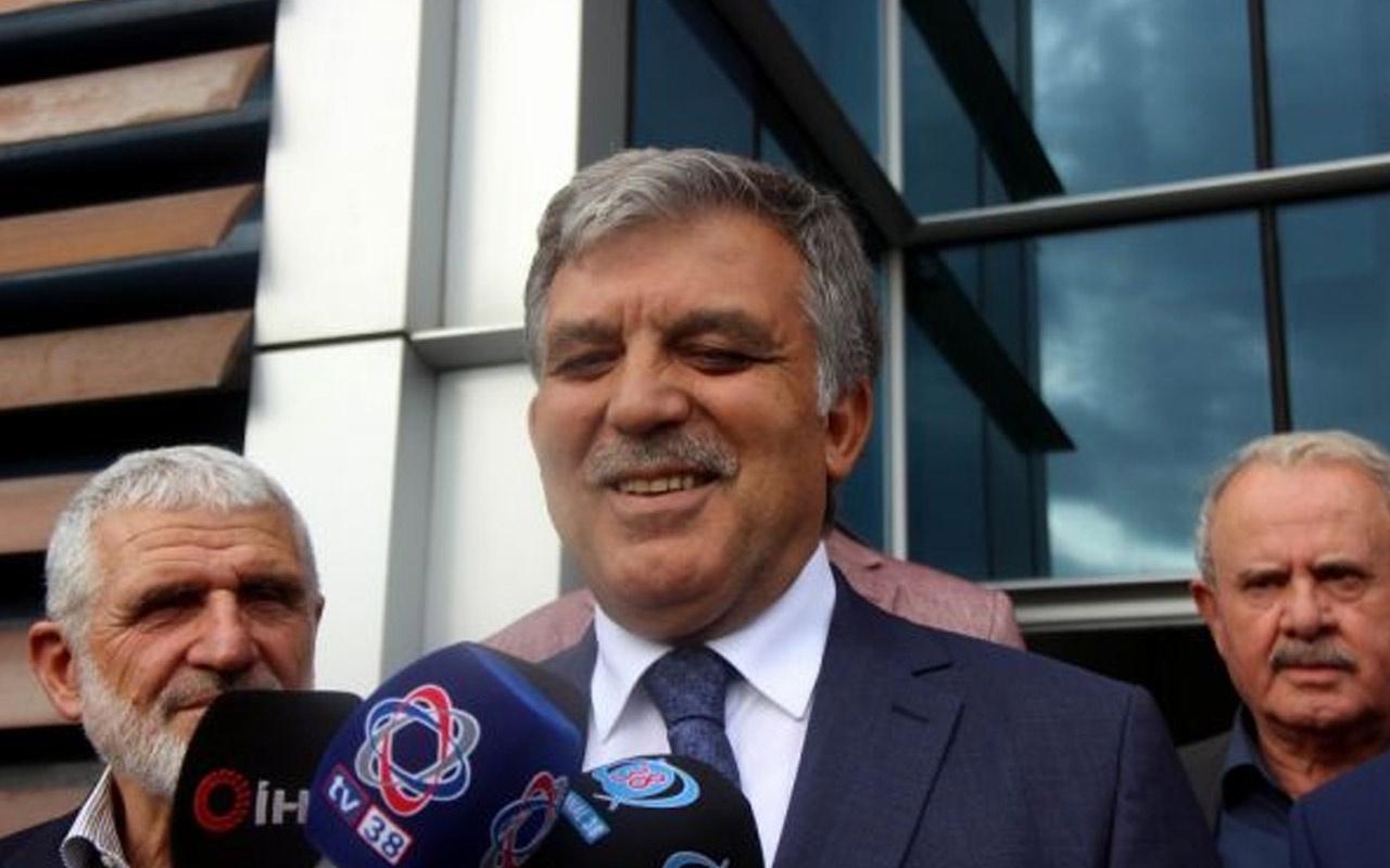 Abdullah Gül'e yeni parti sorusu