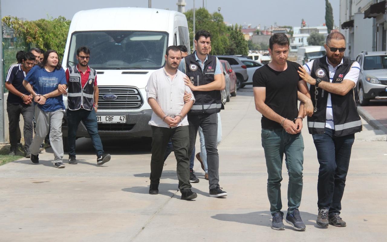 Adana merkezli 8 ilde FETÖ operasyonu daha! Çok sayıda gözaltı var