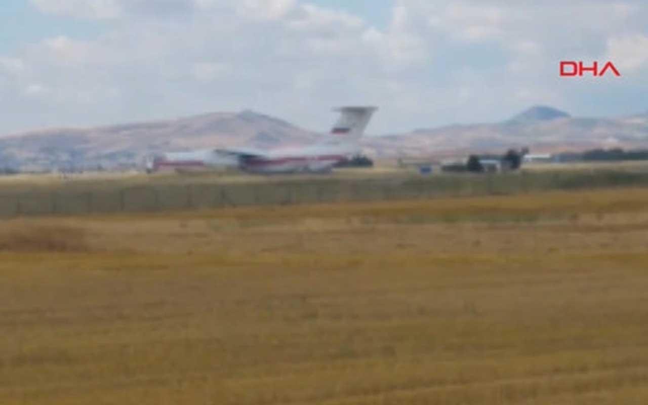 S-400 teslimatından ilk görüntüler geldi