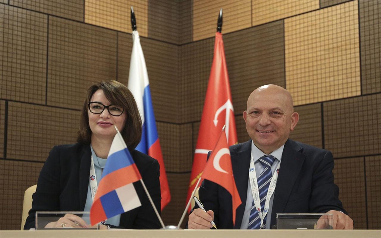 Türk-Rus Toplumsal Forumu'nun 5. toplantısı yapıldı! Türk-Rus üniversiteleri iş birliğine gidiyor