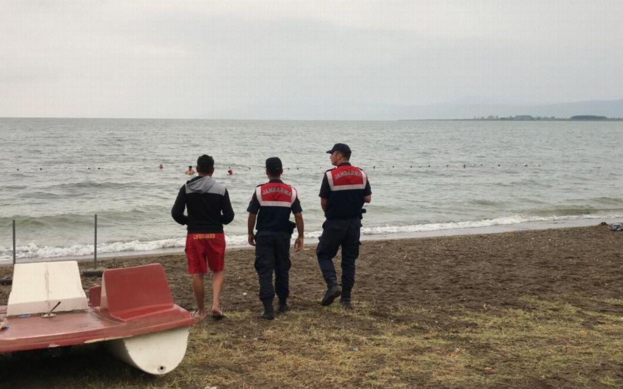 Bursa İznik Gölü'nde tarihi mermer blok bulundu