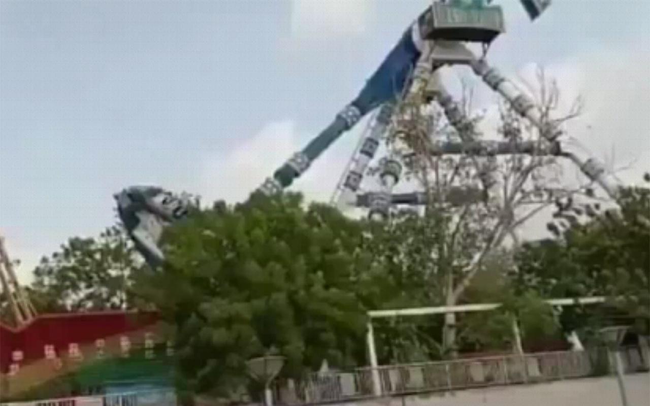 Hindistan'da lunaparkta kaza 3 ölü 28 yaralı