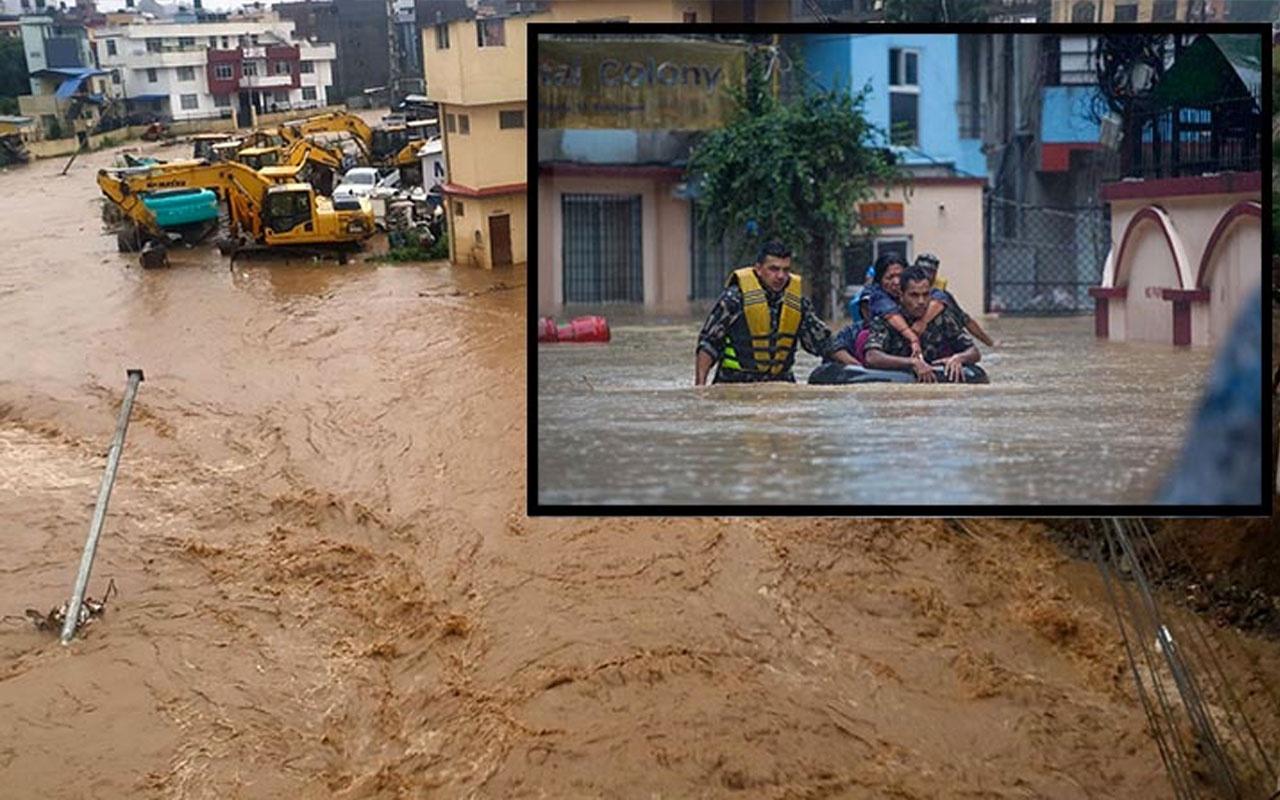 Nepal'daki sel felaketinde ölü sayısı 50'ye yükseldi!