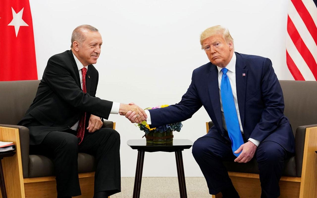 Trump: Erdoğan ile arkadaş olduk