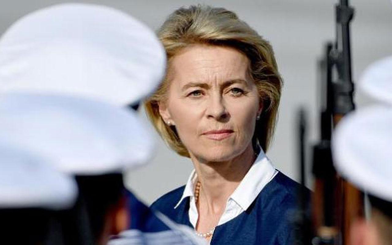 Almanya Savunma Bakanı Ursula Von der Leyen duyurdu! Görevden çekiliyorum