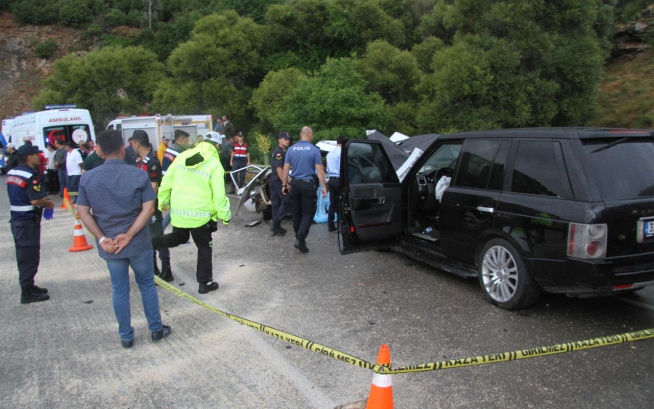 Isparta'daki kazada 3 kişi yaşamını yitirdi
