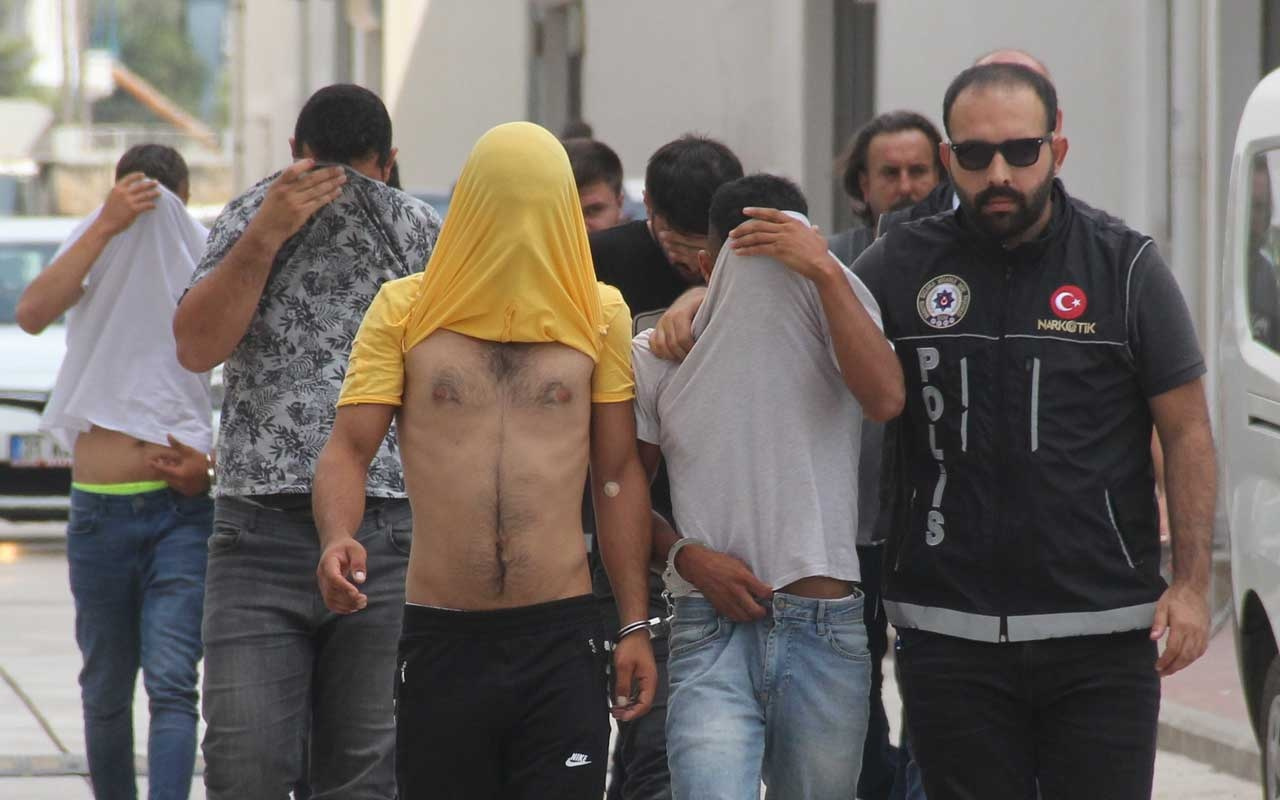 Adana'da torbacı operasyonunda 7 tutuklama