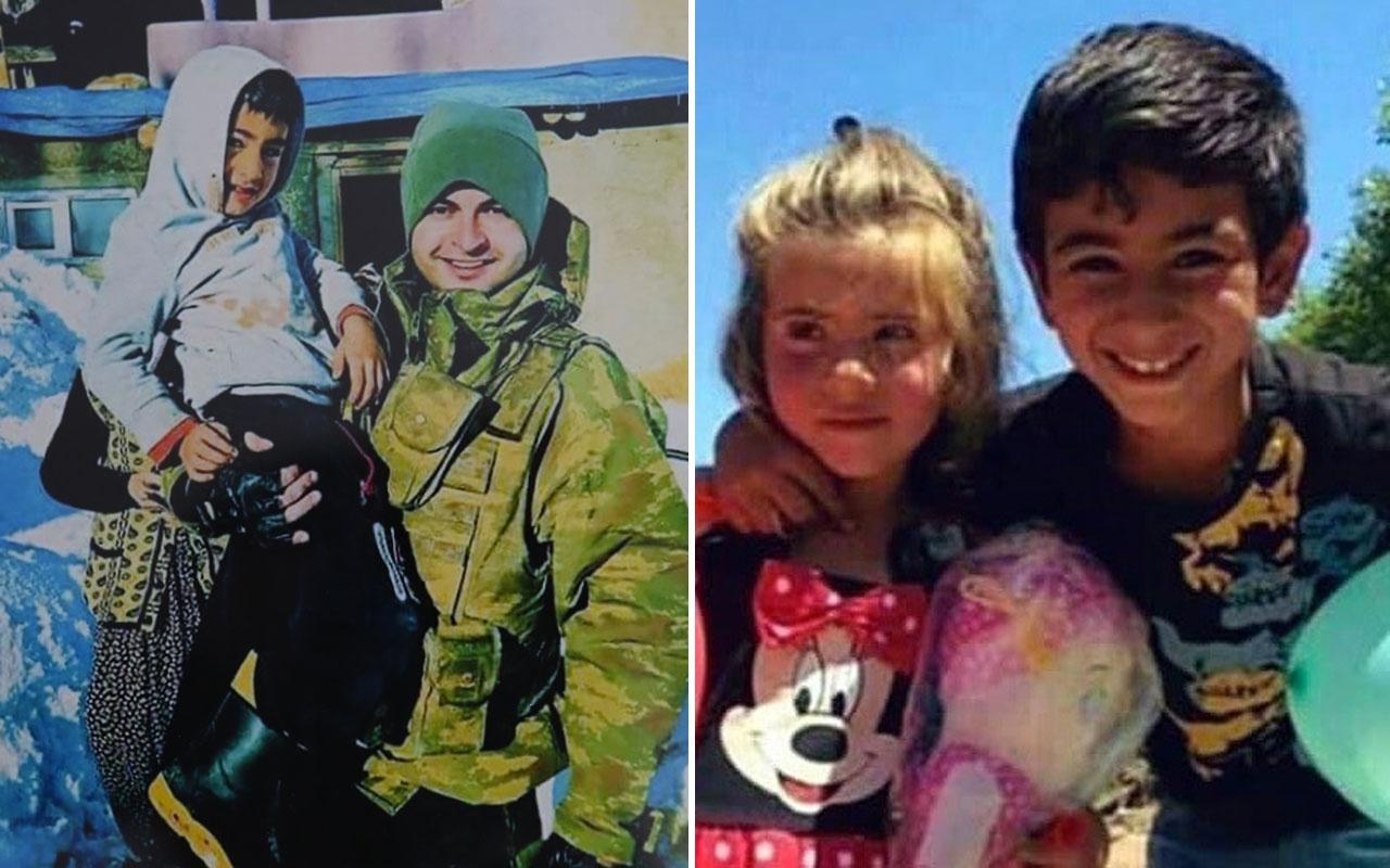 Şehit astsubayın Tunceli'de kucağına alıp fotoğraf çektirdiği çocuk Ayaz Güloğlu çıktı