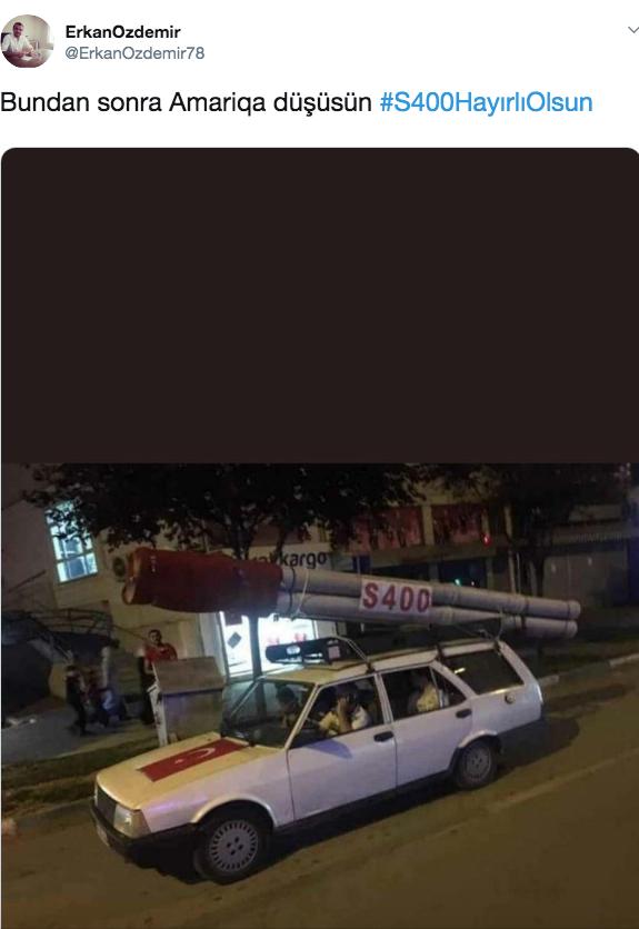 Türklerin S-400 hakkındaki sosyal medya capsleri uluslararası basının ilgi odağı oldu