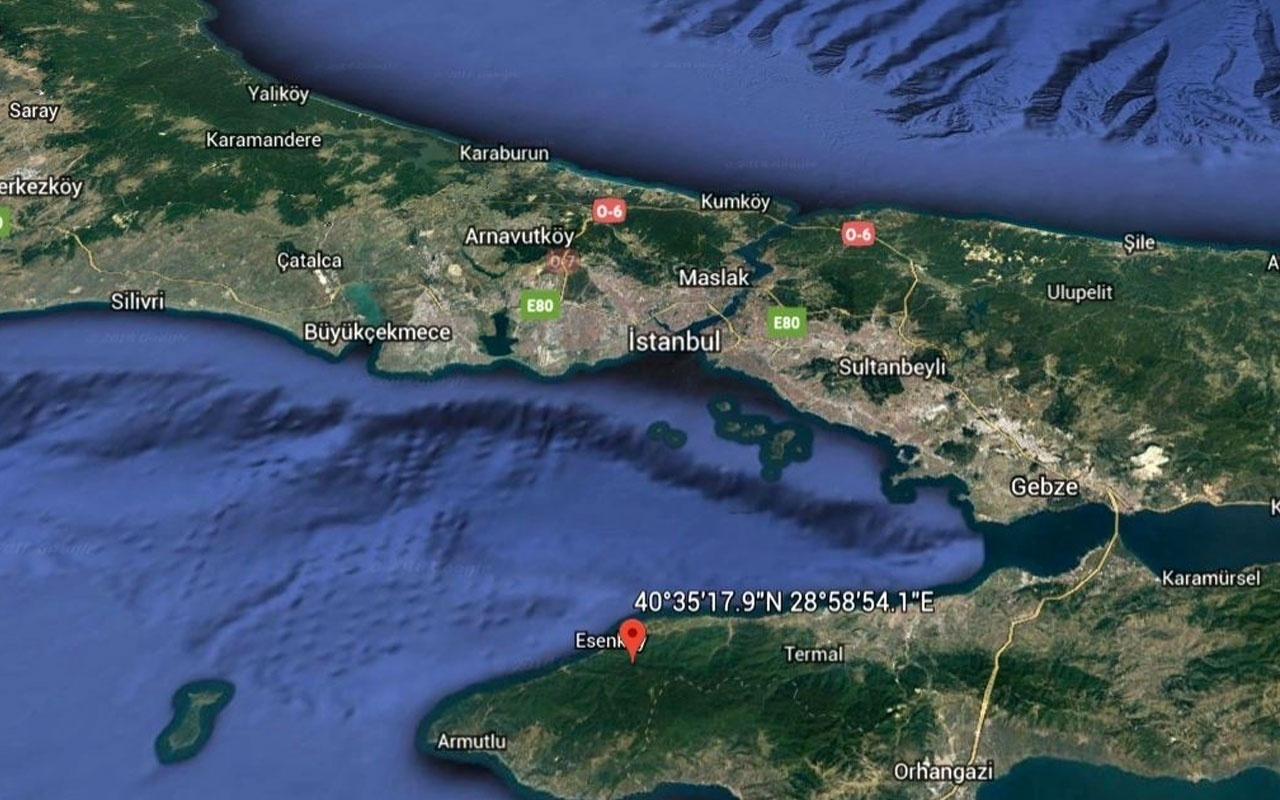 İstanbul'da gece boyunca 40 artçı deprem meydana geldi