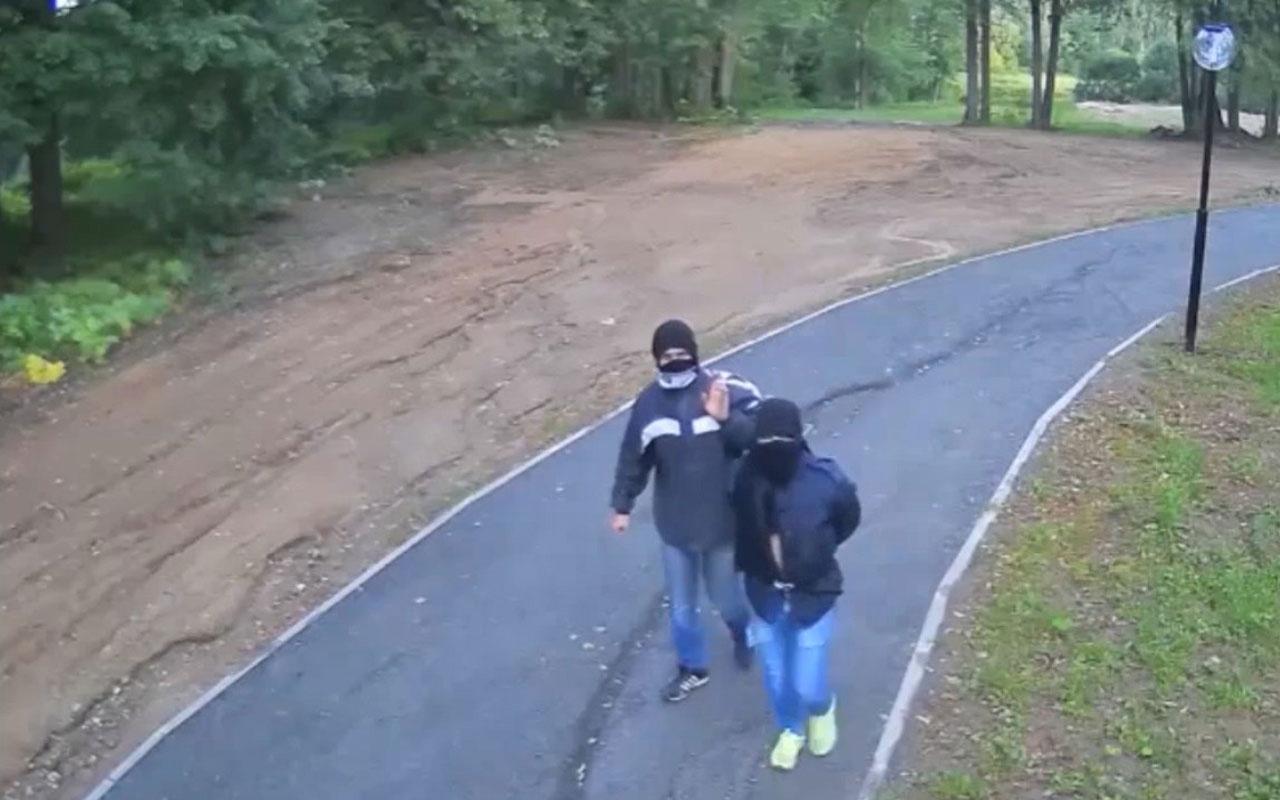 Pes dedirten kamera hırsızları