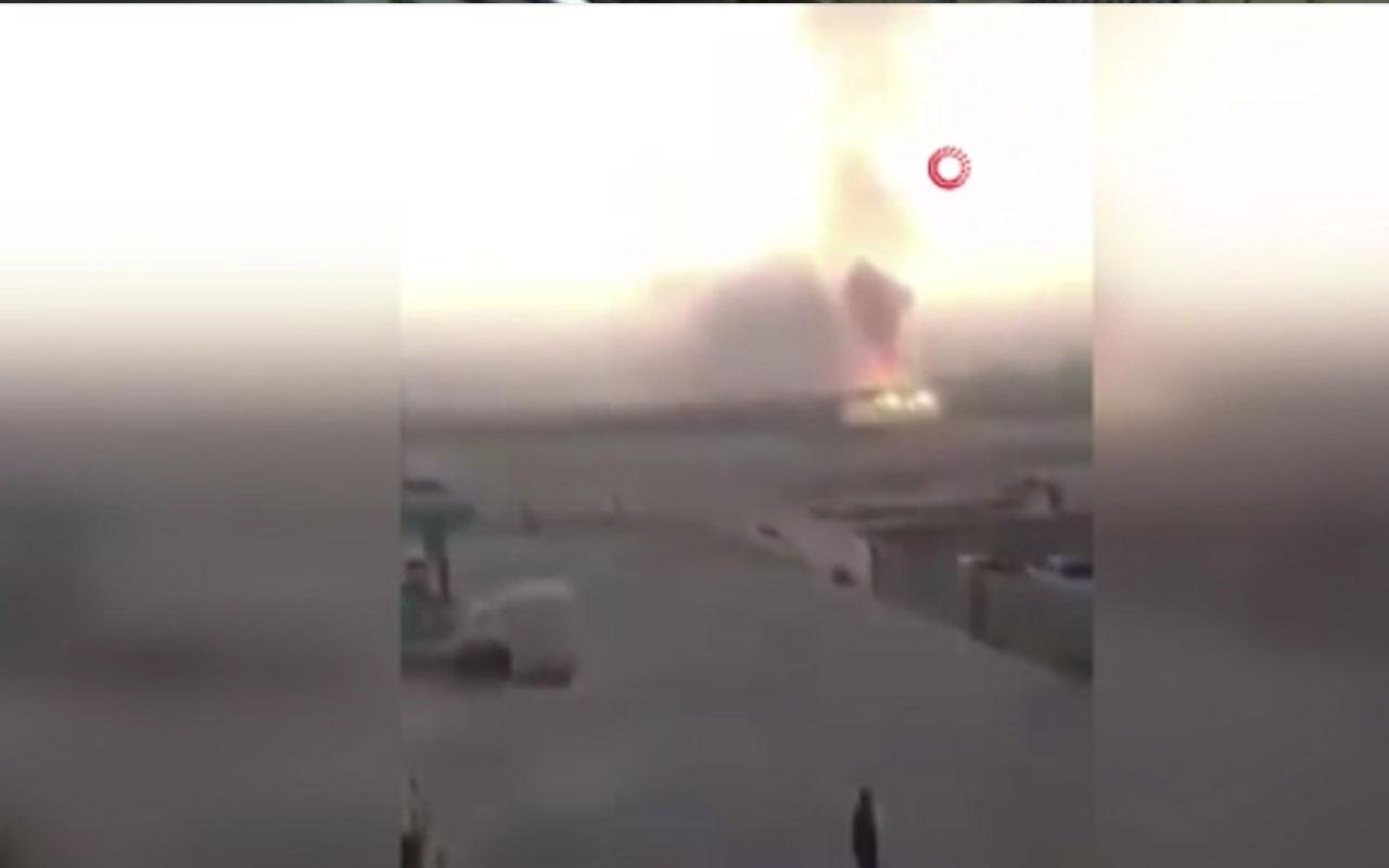 Erbil'de silah ve mühimmat deposunda patlama