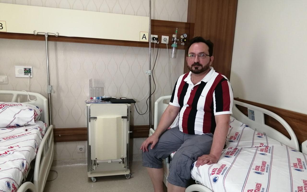 Obez doktor Avustralya'dan gelip kendini Türk hekimlerine emanet etti!