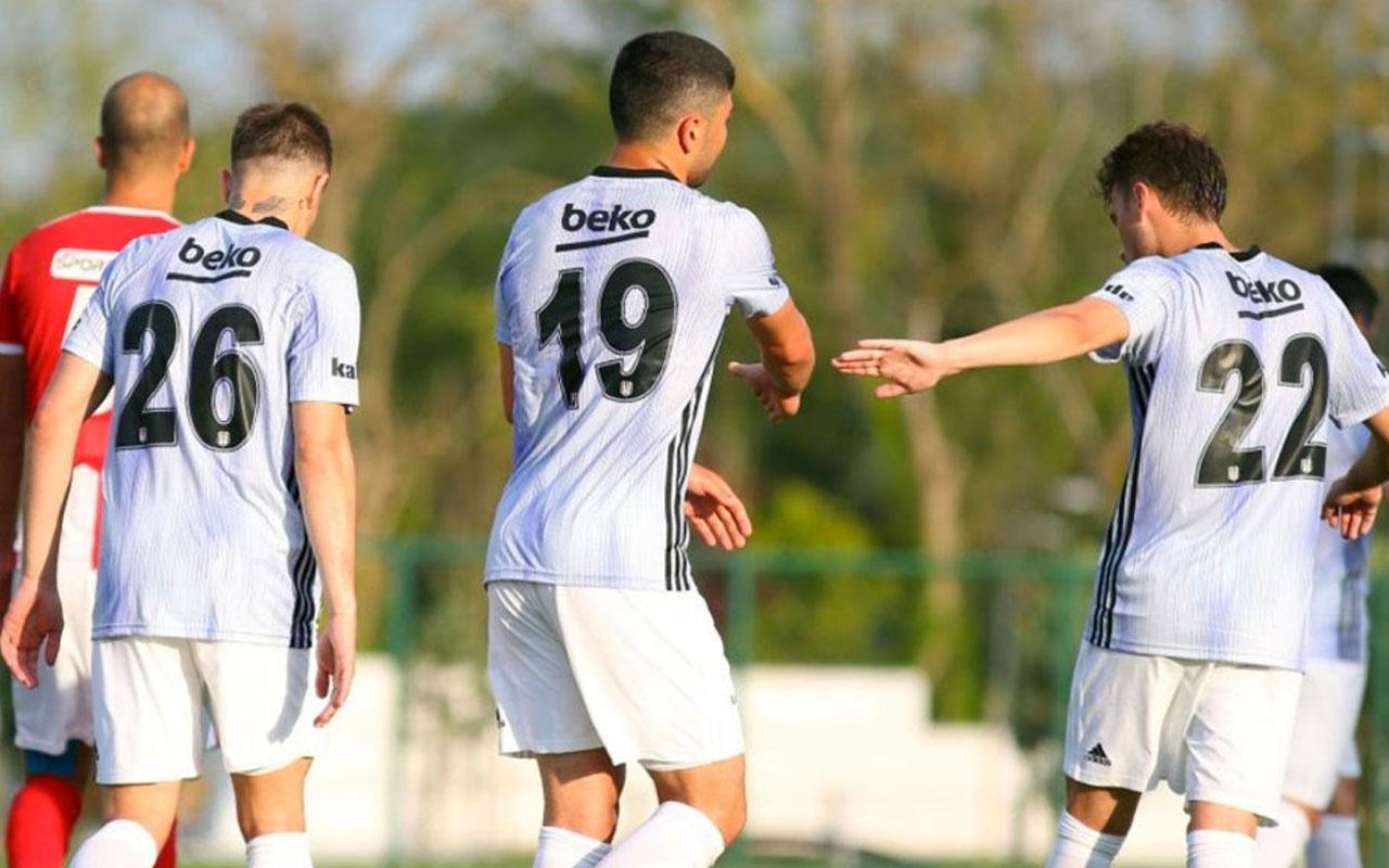 Beşiktaş ilk hazırlık maçında kazandı