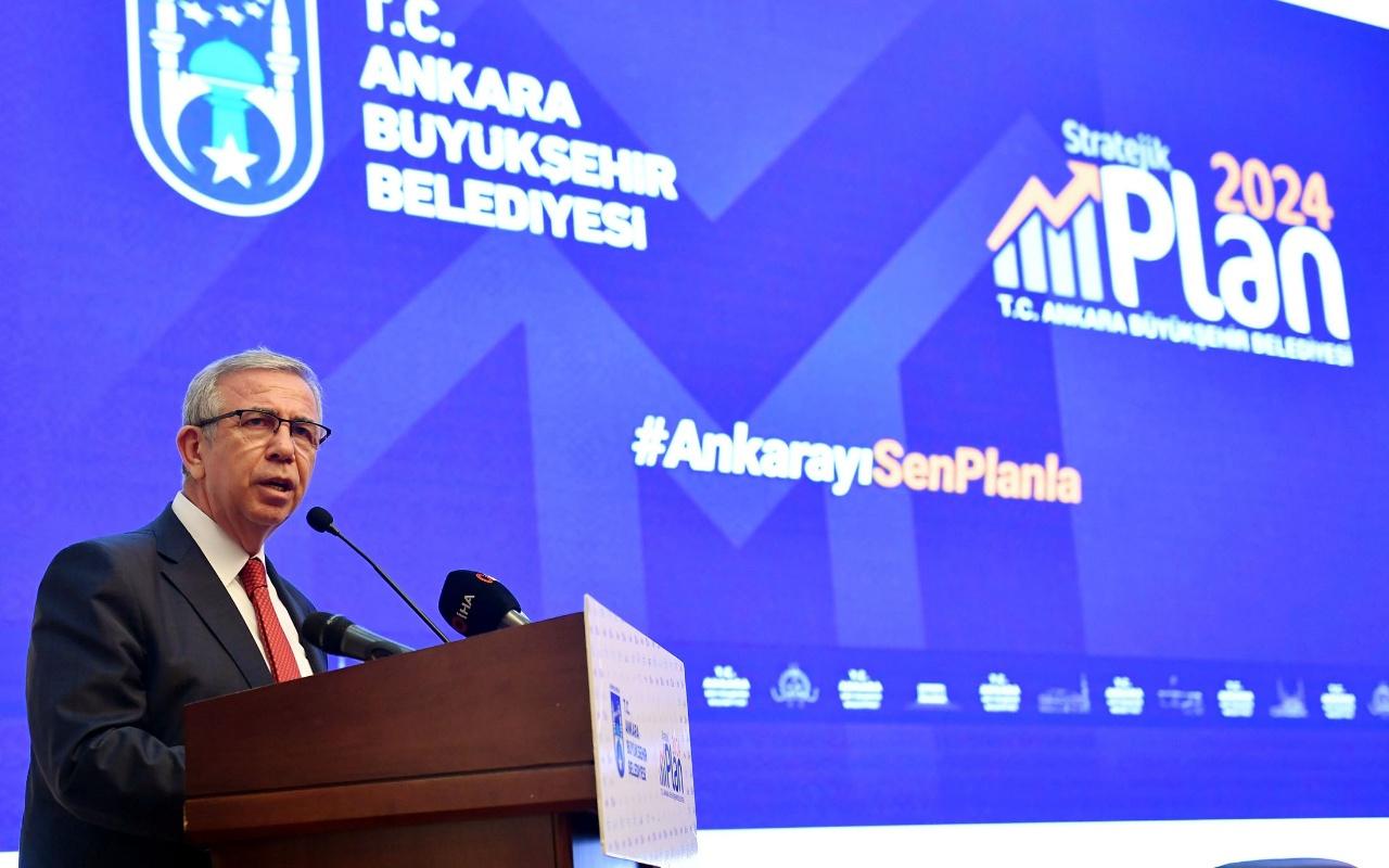 Mansur Yavaş 2050 Ankara vizyonunu açıklayıp ekledi: Hesap sormaya değil hesap vermeye talibiz