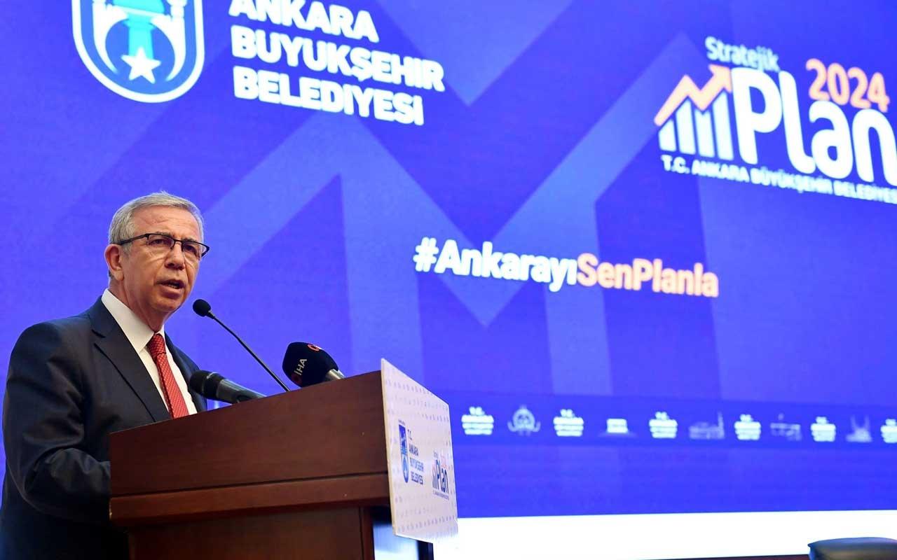 Mansur Yavaş 2050 Ankara vizyonunu açıkladı