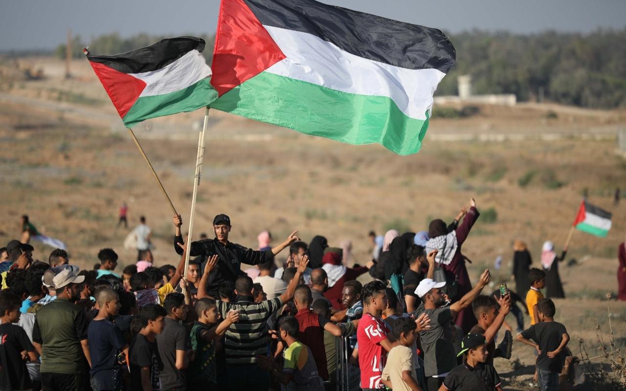 """Gazze sınırındaki """"Büyük Dönüş Yürüyüşü"""" gösterileri"""