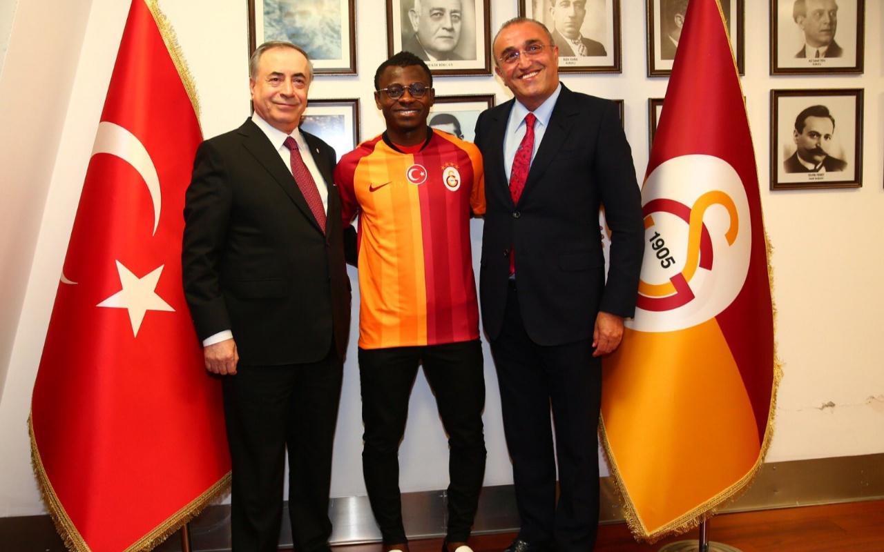 Seri Galatasaray'a imza attı! İşte ilk sözleri
