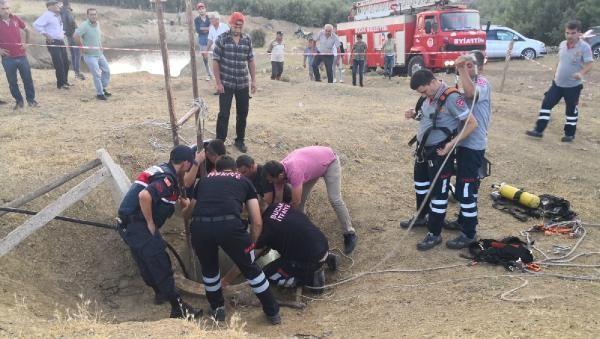 Bucak'ta anne, oğlu ve ikiz kardeşi temizledikleri kuyuda öldü