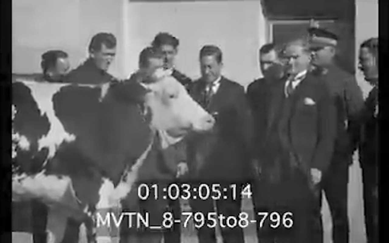 Atatürk'ün 89 yıl önceki videosu
