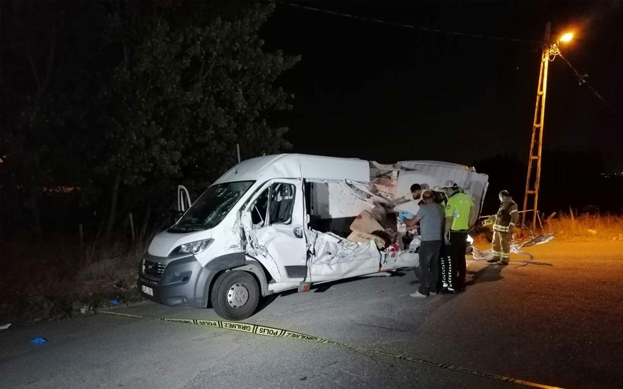 Şile yolunda trafik kazası: 2 ölü 5 yaralı