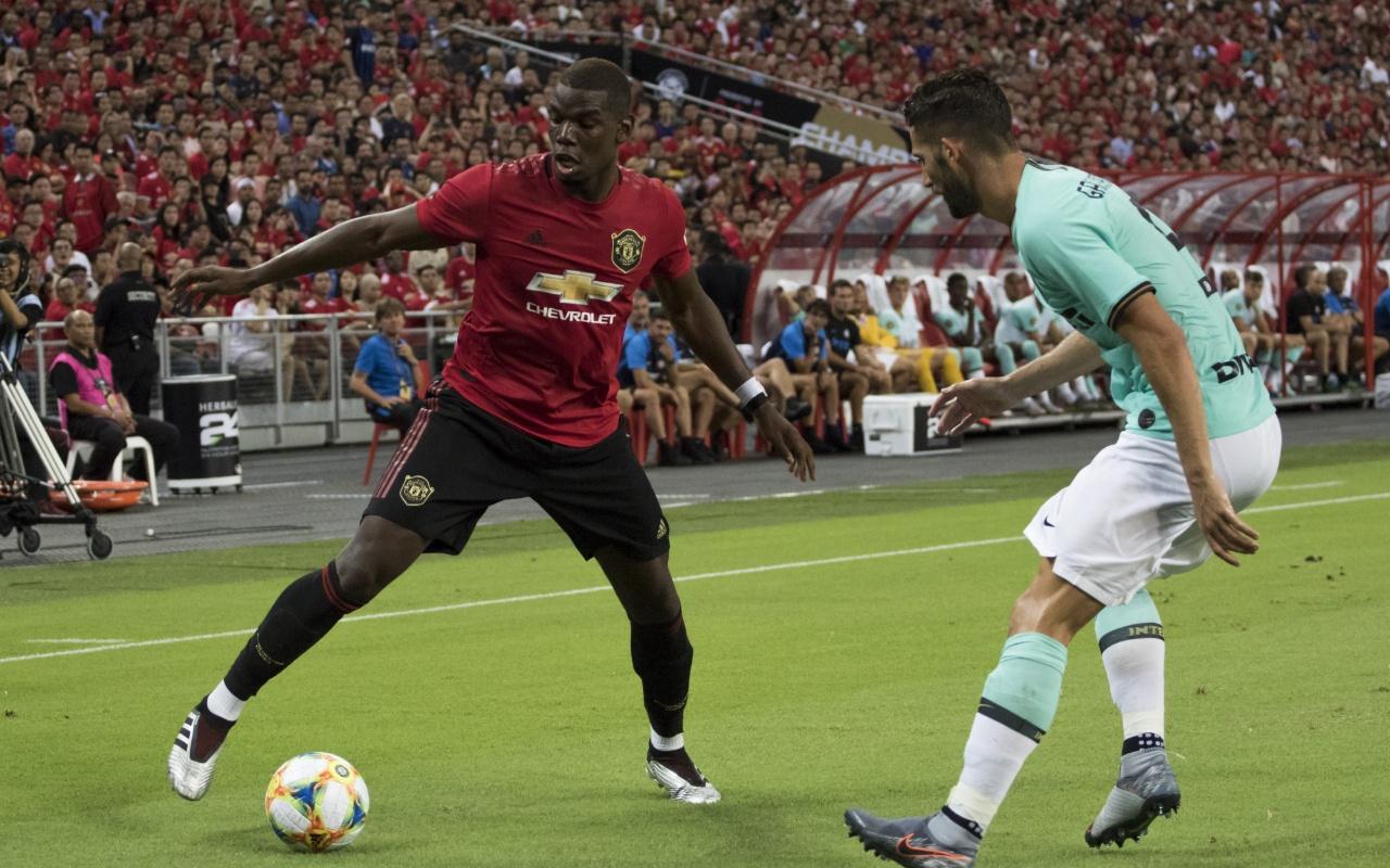 Manchester United Inter'i tek golle geçti