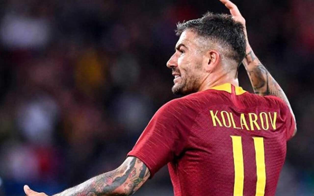 Fenerbahçe'nin gündemindeki Aleksandar Kolarov'dan harika frikik golü